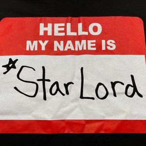 Hello My Name is Star Lord Guardians of the Galaxy